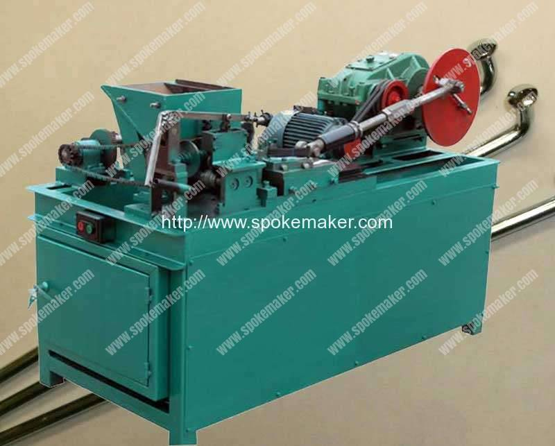 Bicycle Butted Spoke Variable Diameter Making Machine