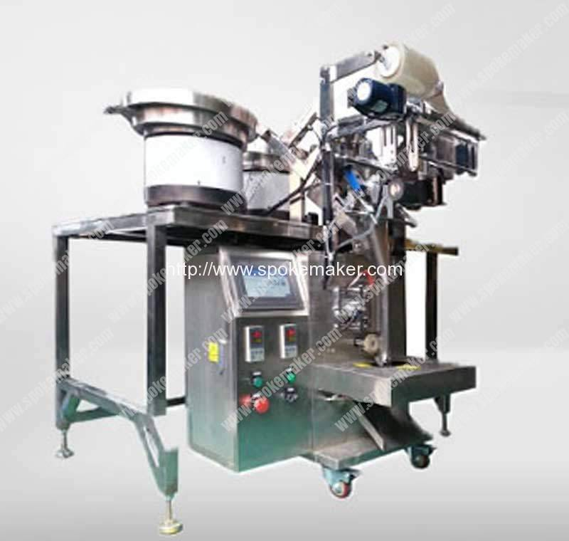 Automatic Spoke Nipples Counting Packing Machine
