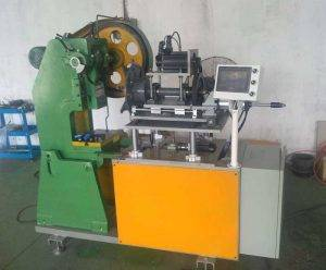 Automatic Motorcycle Rim Dimple Hole Punching Machine