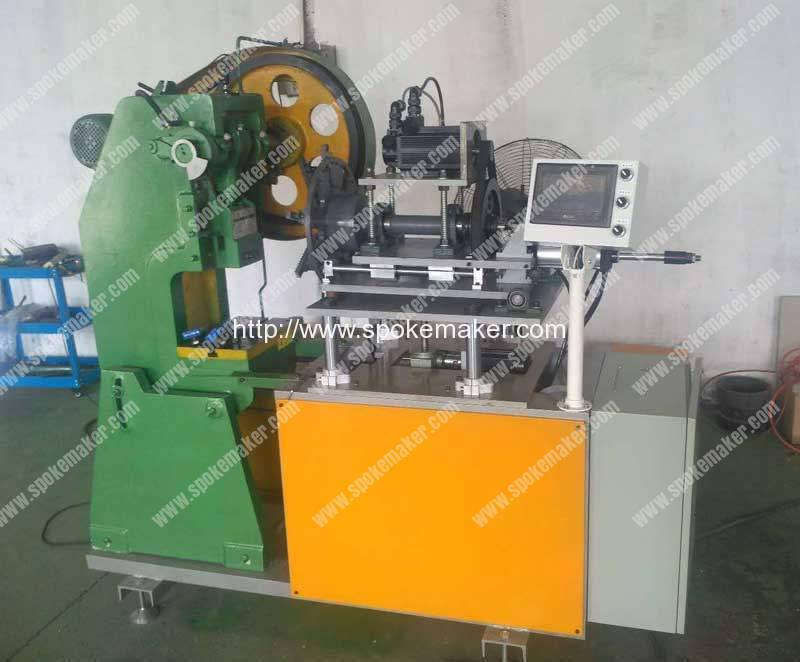 Automatic-Large-Motorcycle-Rim-Dimple-Hole-Punching-Machine