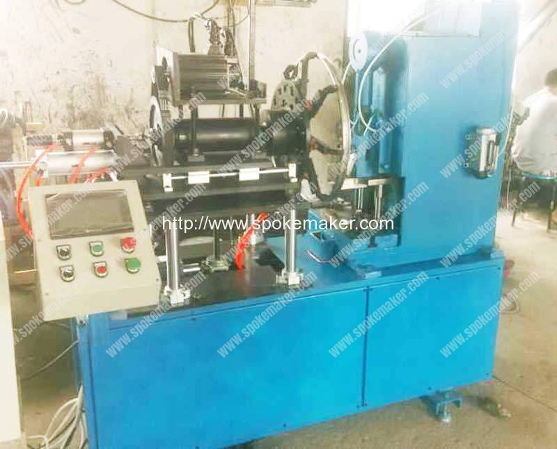 Automatic Cycle Rim Hole Punching Machine