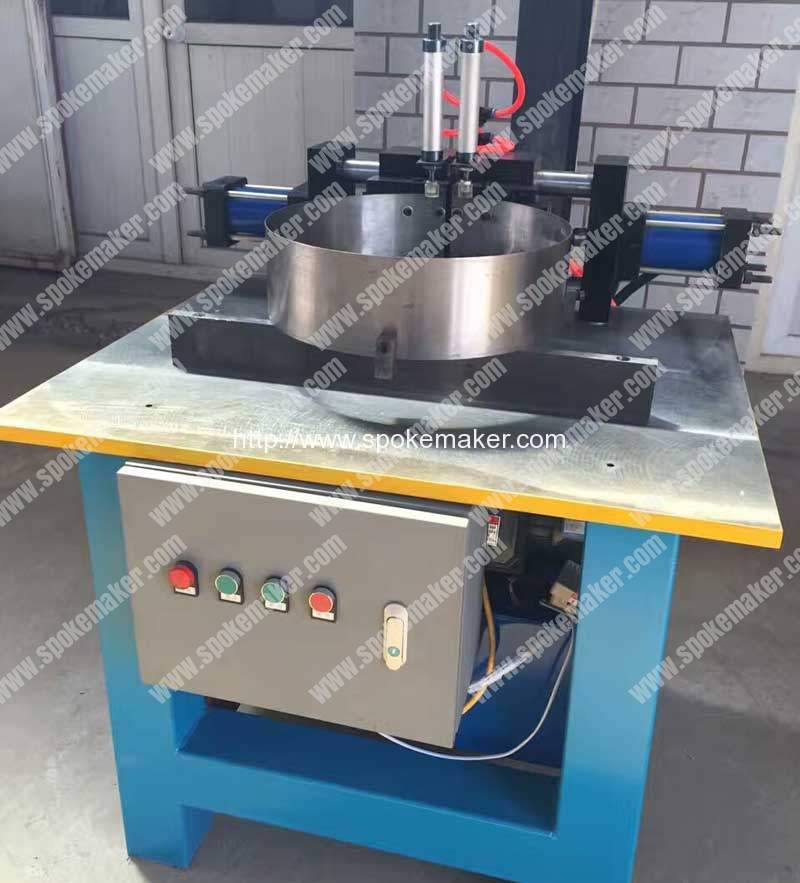 Aluminium-Bicycle-Rim-Pin-Jointing-Machine