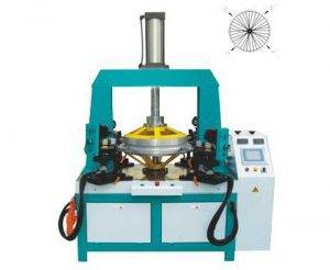 Automatic Cycle Rim Nipple Tightening and Spoke Positioning Machine