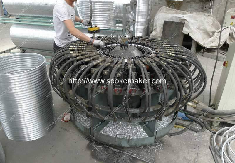 High-Speed-Aluminium-Wheel-Rim-36-Hole-Punching-Machine