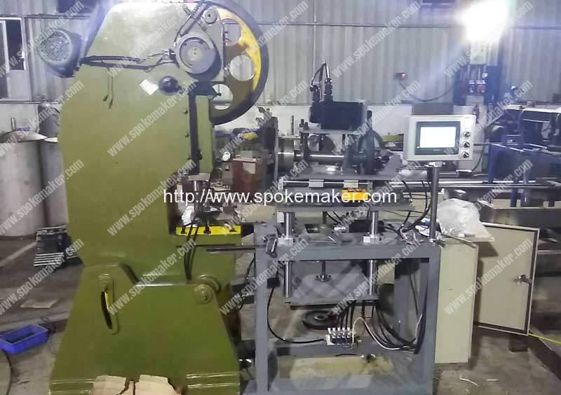Automatic-Cycle-Rim-Dimple-Hole-Punching-Machine-for-Indonesia-Customer