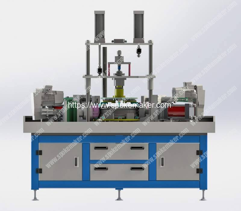 Hydraulic-Aluminum-Motorcycle-Rim-Dimple-Hole-Punching-Machine-Manufacturer