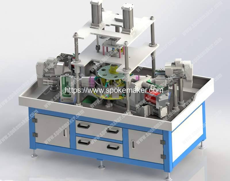 Hydraulic-Motorcycle-Rim-Dimple-Hole-Punching-Machine-Manufacturer