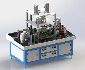 Hydraulic Type Motorcycle Rim Dimple Hole Punching Machine