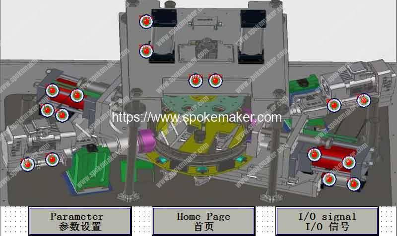 Wheel-Rim-Dimple-Hole-Drilling-Forming-Machine-Function