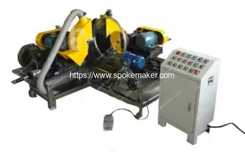 Automatic Cycle Three Sides Rim Polishing Machine