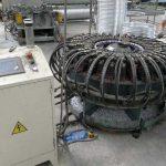 High Speed Hydraulic Type Aluminium Wheel Rim 36 Hole Punching Machine